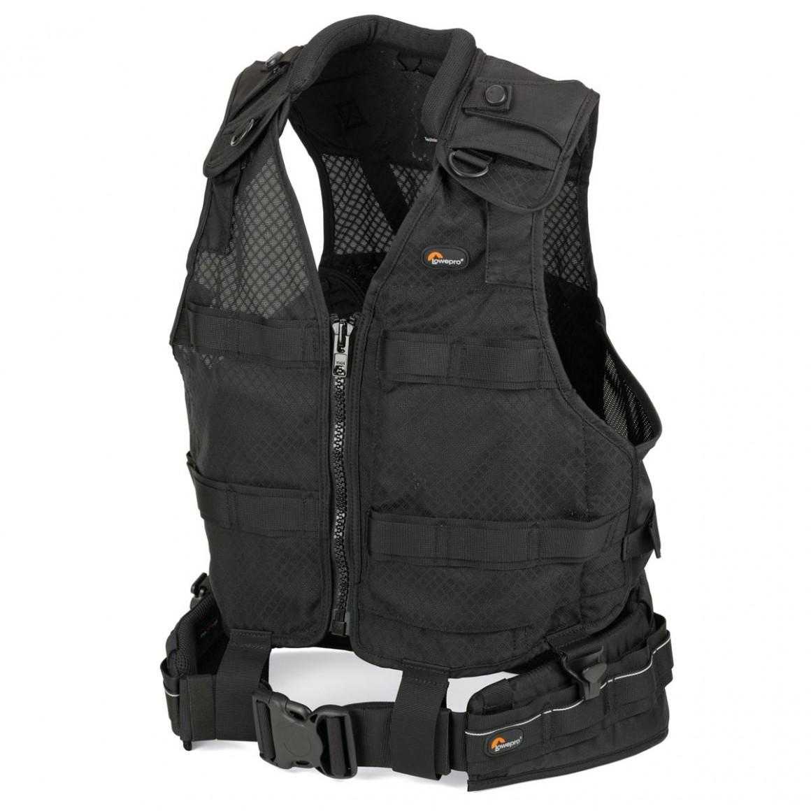 SF_DLXBelt_TechVest_Left_1 lowepro s&f deluxe belt & vest kit (s m l xl)  at nearapp.co