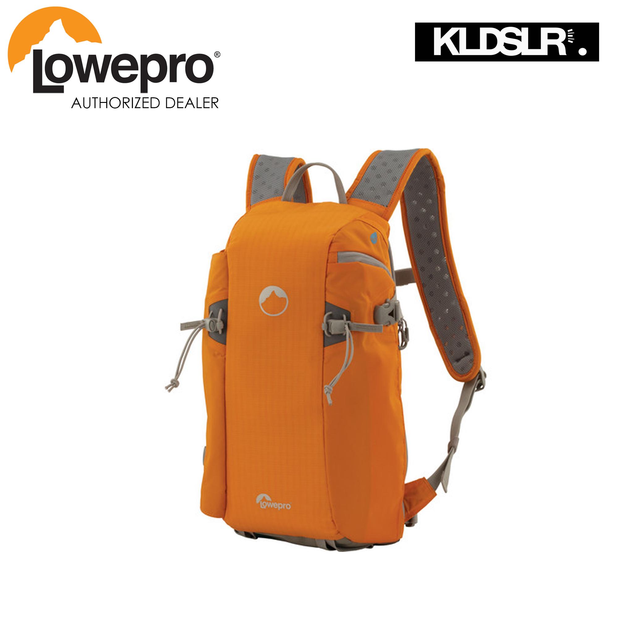 Lowepro Flipside Sport 10l Aw Daypack Orange Light Gray Protactic Sh 120 Black
