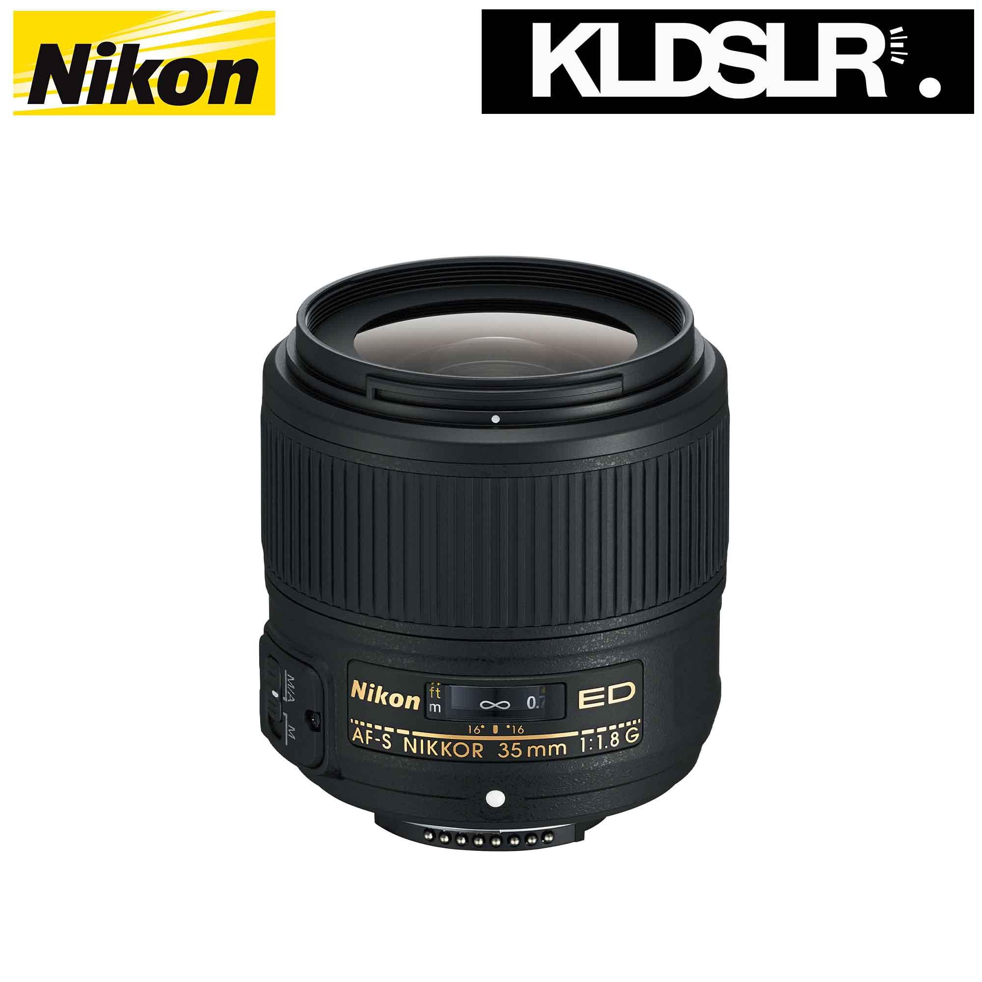 Nikon 35mm f/1.8G ED AF-S NIKKOR Lens (FX Full Frame Lens) (Nikon ...