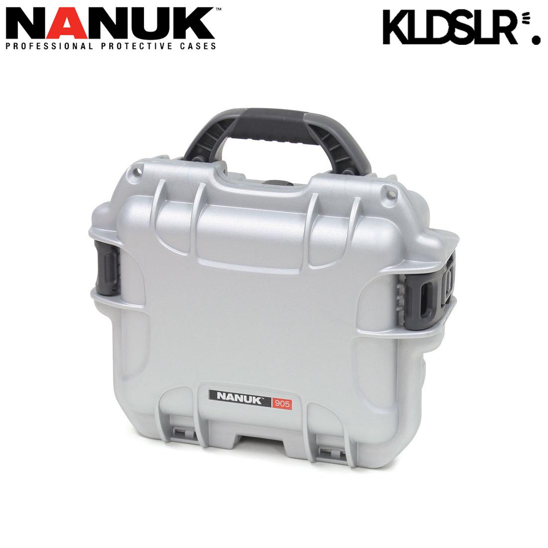 Nanuk 905 Waterproof Hard Case With Foam Lowepro Toploader Zoom 45 Aw Ii Black