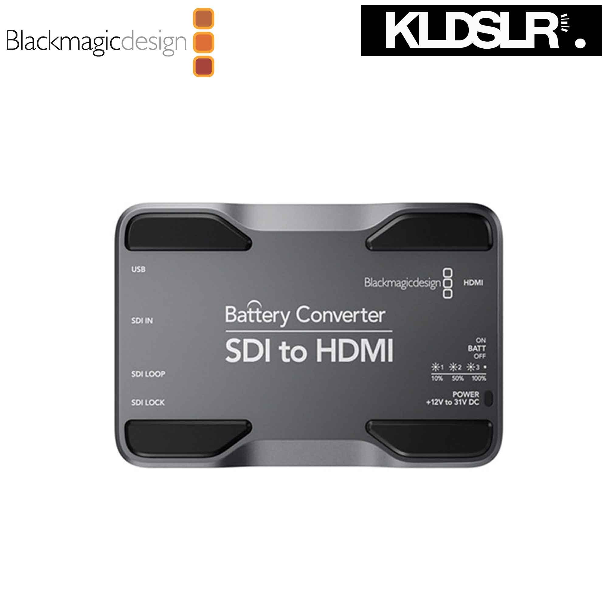 Blackmagic Design Sdi To Hdmi Battery Converter Malaysia