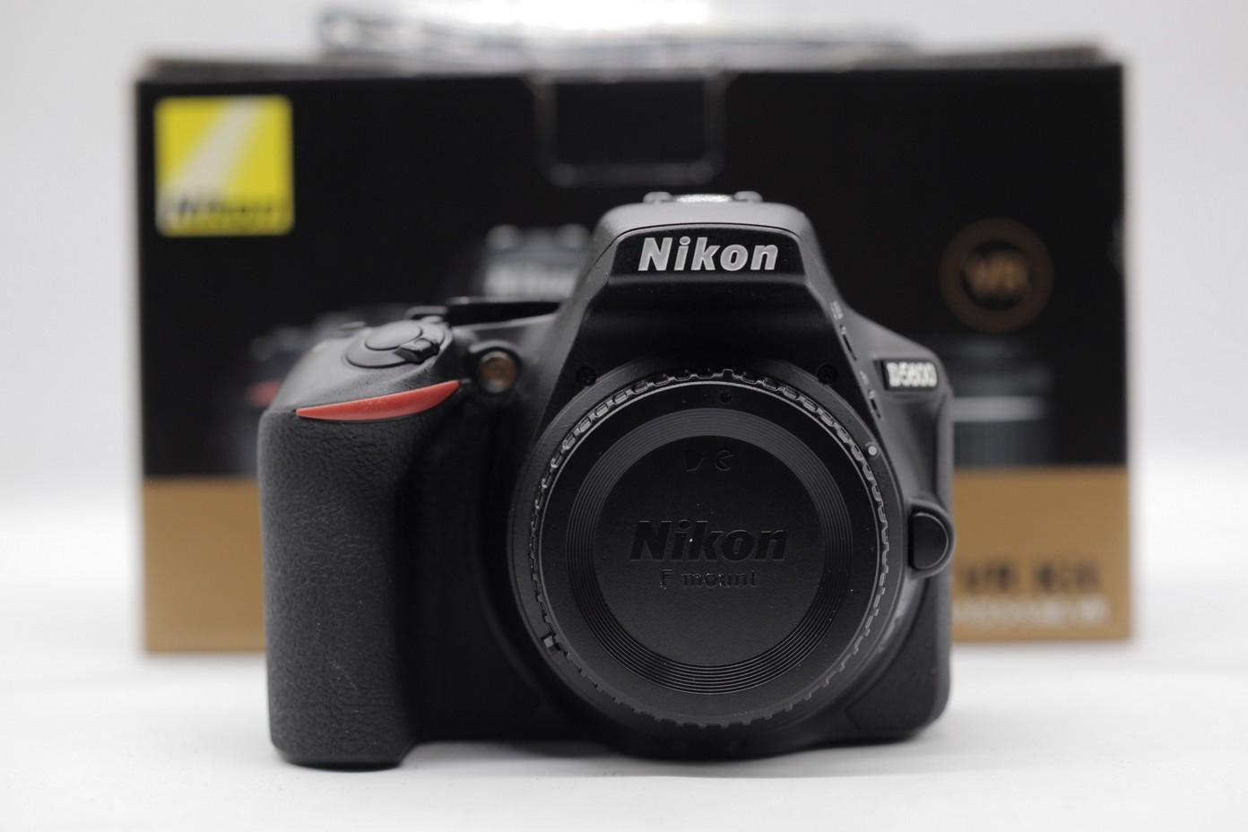 Used Nikon D5600 Dslr Camera With Af P 18 55mm F35 56g Vr Dx Sc 4k Kit