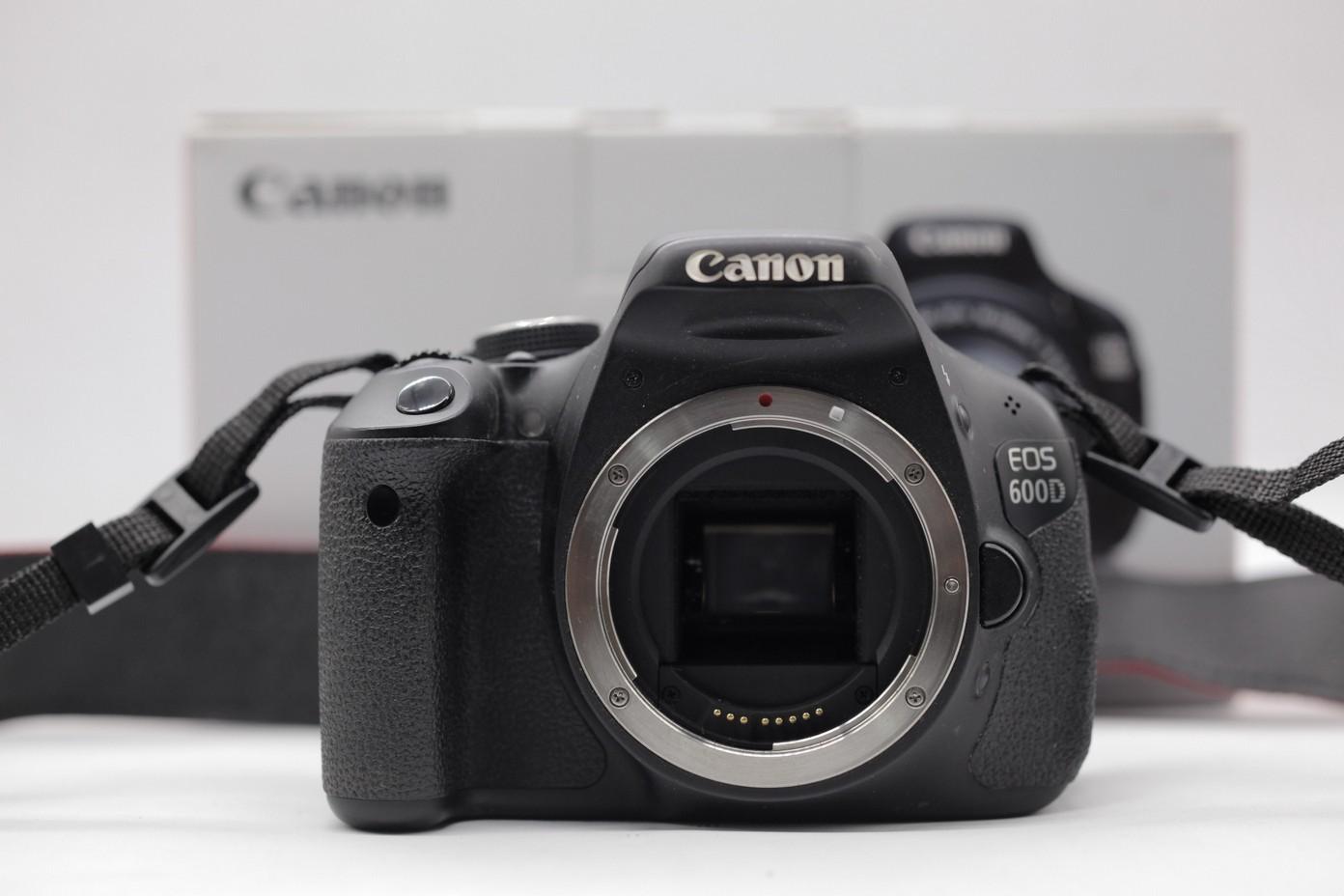 Used - Canon 600D DSLR Camera SC 31k (Body)
